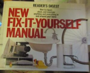 Reader-039-s-Digest-New-Fix-It-Yourself-Manual-1996-Hardcover-1996