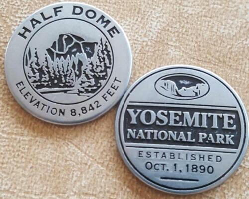YOSEMITE NATIONAL PARK - HALF DOME TOKEN - CALIFORNIA