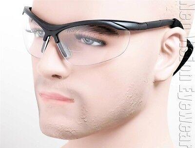 Erb Erbx Safety Glasses Bifocal Reading Reader Magnifier Sun W Cord Z87