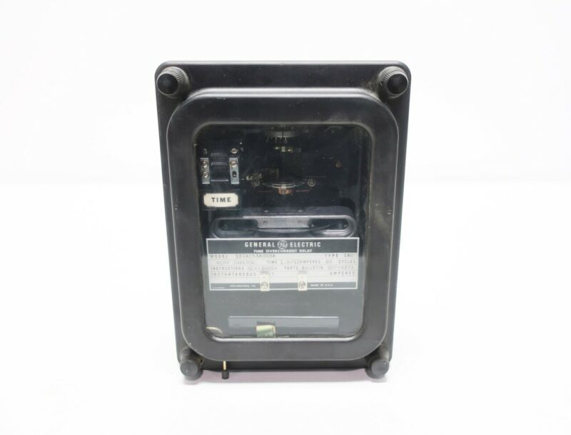 General Electric Ge 12IAC53A803A 1.5-12a Amp Overcurrent Time Relay