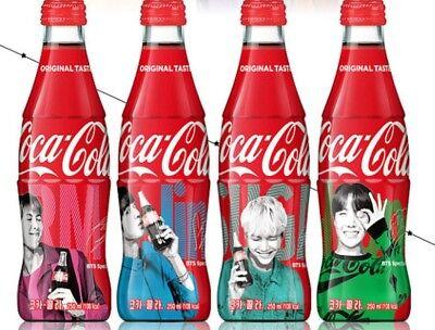 Special Order Bottles - [BTS] Pre Order BTS Special Coca Cola Special Package Coke Contour BOTTLE LTD