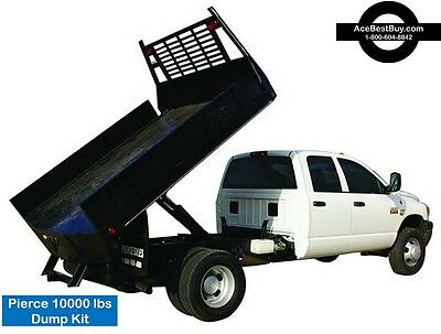 Pickup Flatbed Dump Bed Hoist Kit. Turn Into Dump Truck. 10000 Lbs.easy Install