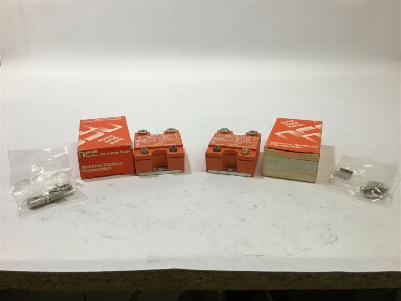 NCC SNC-R2010-502 Solid State Relay Lot of 2