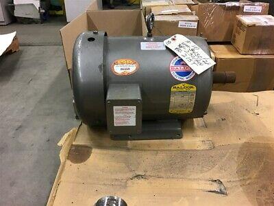 Baldor M3t11t Industrial Motor 10 Hp 3450 Rpm 3ph 215t Frame 230460v