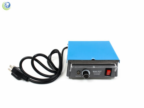 DENTAL LAB EQUIPMENT ANALOG WAX HEATER WARMER DIPPING POT WAXING  110V