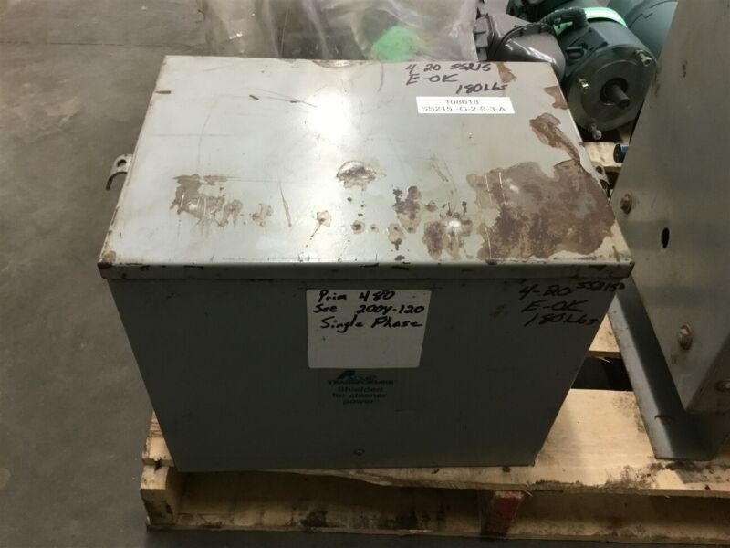 Acme Transformer 480 Pri, 200-120 Sec Single Phase