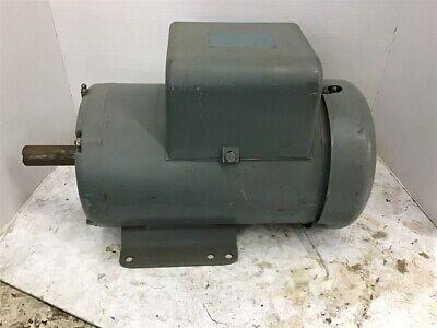 Baldor L1410t 5 Hp Ac Motor208-230 Volts 1800 Rpm 4p Single Phase 184t Frame