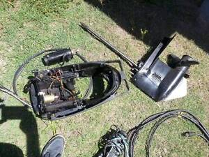 Mercury Boat Motor Parts From 50 HP -Leg, Trim, Starter, Cables Clontarf Redcliffe Area Preview