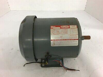 Dayton 5k596b Ac Motor 12 Hp 1725 Rpm 4 Poles 115v 56 Fr Single Phase 60 Hertz