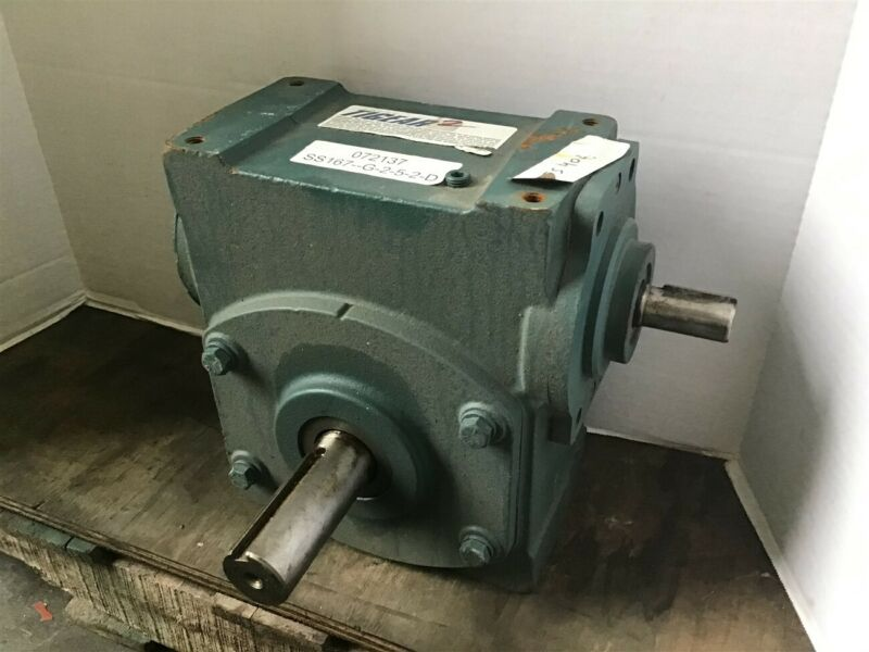 Dodge Tigear 35S406 40:1 Ratio Left Angle Gear Reducer 3.23 HP