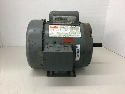 Dayton 5k6360 13 Hp Ac Motor 115230 V 1725 Rpm 4p Single Phase 56 Frame