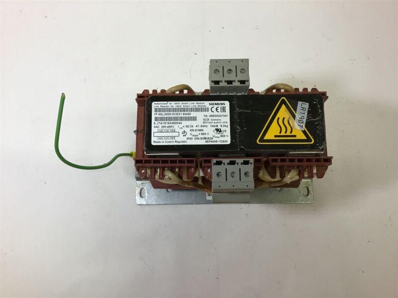 SIEMENS 6SL3000-0CE21-6AA0 LINE REACTOR FOR 16 KW SMART LINE MODULE