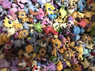 Lot10PCS Random Original Littlest Pet Shop Mini LPS Cute Animals Figure Toys