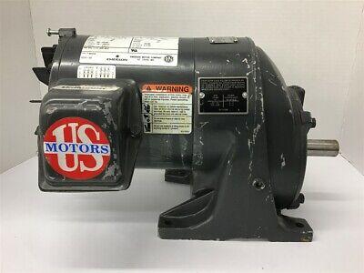 Emerson E180 12 Hp Ac Gear Motor 208-230460 Volts 1745 Rpm 4.061 Ratio
