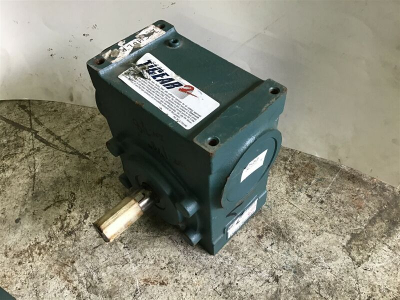 """Dodge Tigear 2 26S40Lr Dual Shaft Gear Reducer 40:1 Ratio 1-1/8"""" Out 7/8"""" In"""
