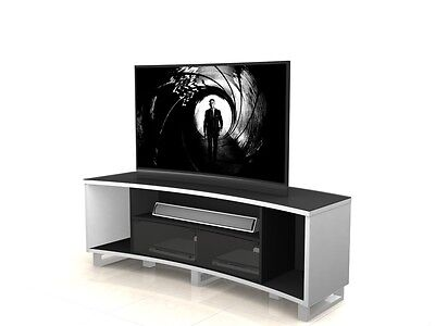 TV Stand Entertainment Unit 1600MM Cabinet Curved Plasma LCD LED White