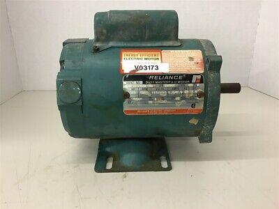 Reliance C56h3138n-tq 13 Hp Ac Motor 115230 Volts 1725 Rpm 4p Single Phase 56c