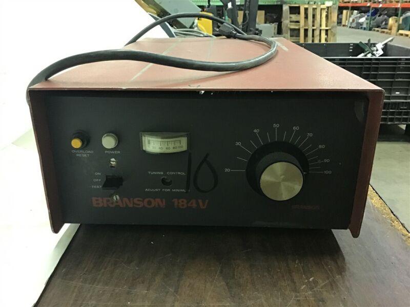 Branson 184V KQ60245A 117 VAc 50/60 HZ