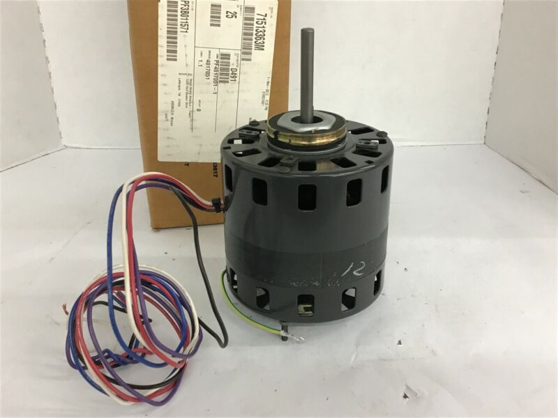 Fasco D491 1/10 HP Shaded Pole Motor 115/208-230 V 1050 Rpm 1 Spd