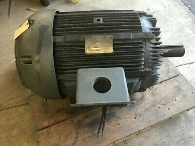 Siemens-allis 100 Hp Ac Motor 460 Volt 1200 Rpm 6p 444t Frame