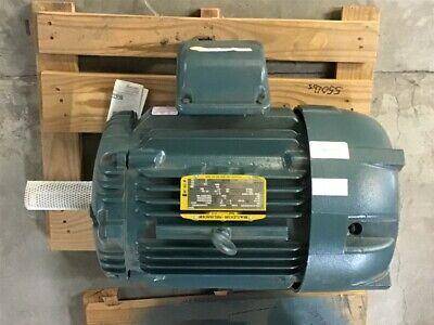 Baldor 30 Hp Ac Motor 460 Volts 1800 Rpm 4p 286t Frame Tefc 3 Phase 60 Hz