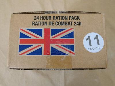 Menue #11 GB ARMY 24 Hour Combat Ration MRE EPA SURVIVAL Notration Verpflegung