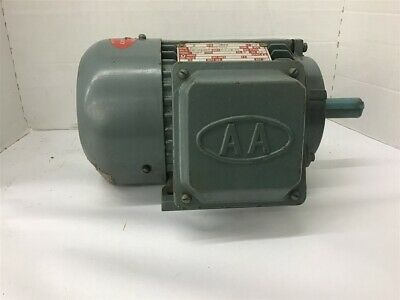 2 Hp 1800 Rpm Ac Motor 208-230460 Volts 145t Frame 3 Phase