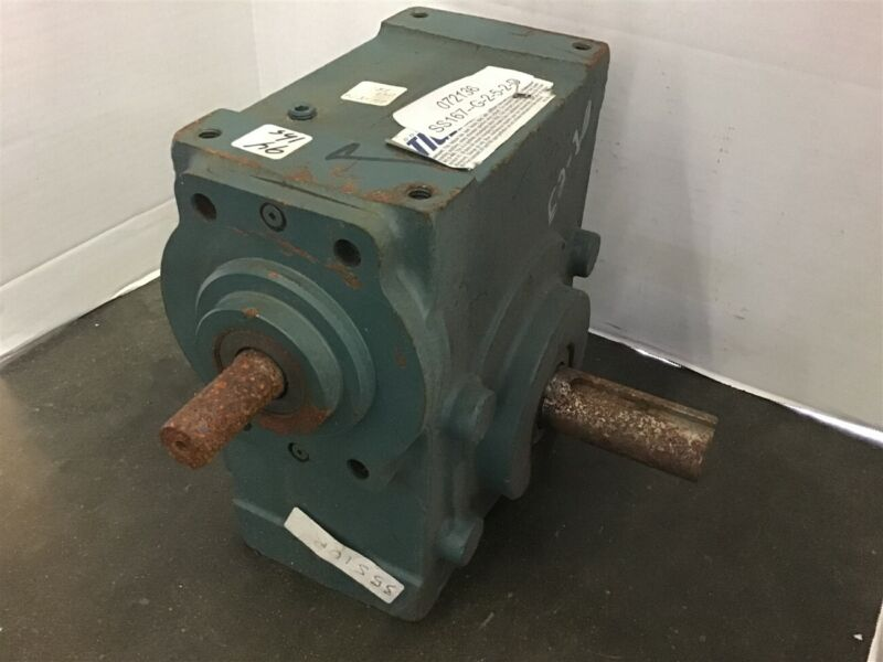 Dodge Tigear 35S10R 10:1 Ratio Right Angle Gear Reducer 10 HP