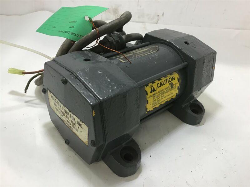 Houston Pfv-220-1 Vibrator 220 Vpm 3450 120 Volts 3 Amps
