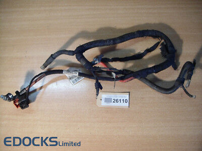 Motor Wiring Loom Harness Cable Set Battery Pole Astra H 1,8 Z18XE Vauxhall