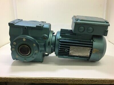 Sew-eurodrive Dft80n4th Gear Motor 1 Hp 1380 Rpm 230400 V 50 Hz 3 Ph