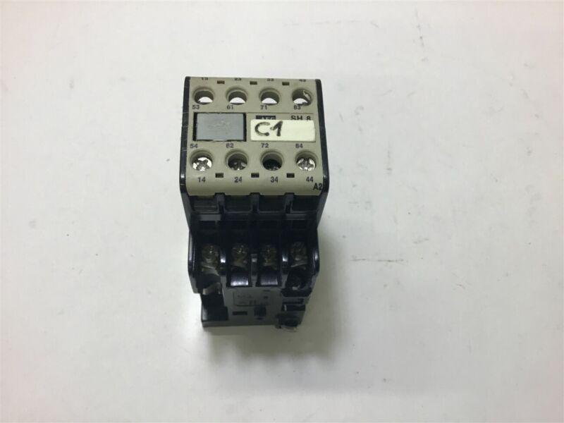 Aeg SH8 Contactor 20 Amp 600 Vac 28 Volt 60 Hz