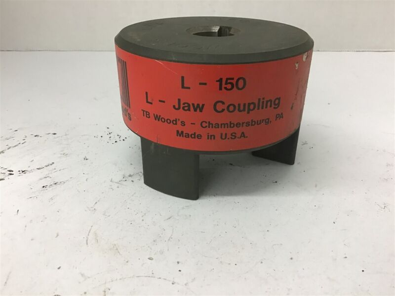 "TB Woods L-150 Jaw Coupling 7/8"" Bore"