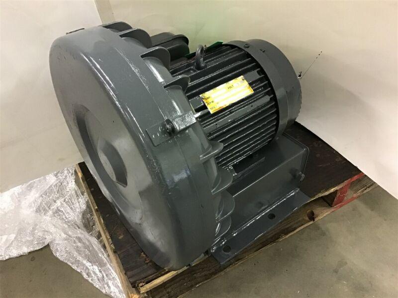 3 Hp Ring Compressor Blower 3600 Rpm 2P 575 Volt 3 Ph 60 Hz 182T Frame