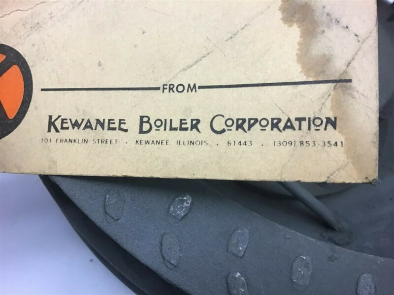 "Kewanee Boiler Corporation 2-390-5-011-22-02 Wheel Blower 1 1/4"" Bore"