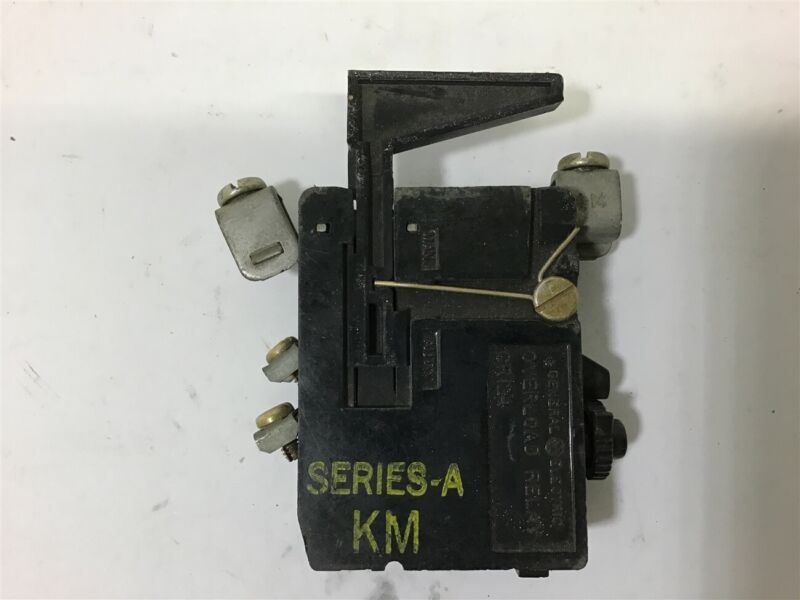 General Electric 124D081 Overload Relay 600 Vac