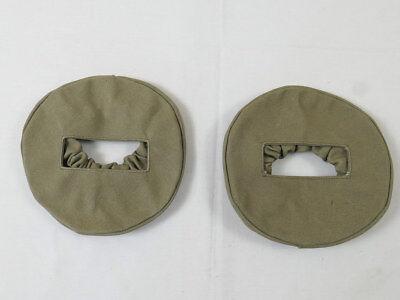 2 Stück KFZ Scheinwerfer Abdeckung Lampen Cover Tarnlicht mit Schlitz UNIVERSAL