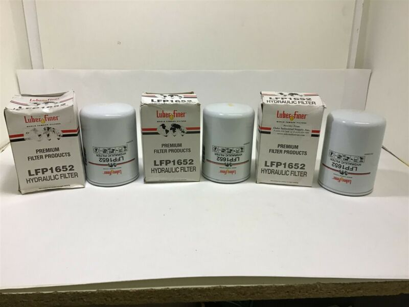 Luber-finer LFP1652 Hydraulic Filter Lot of 3