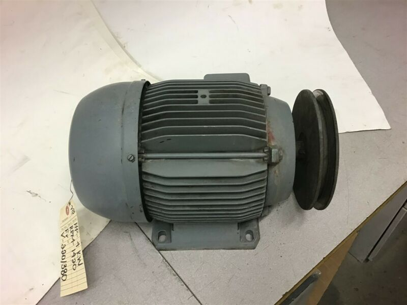 AEG AM112MZ4 Electric Motor 4 KW (5.36 HP) 220/380 Volts 1420 RPM 50 HZ 3 Phase
