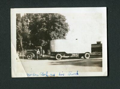 1937 1938 1939 International Semi Truck Vintage Photo 471038