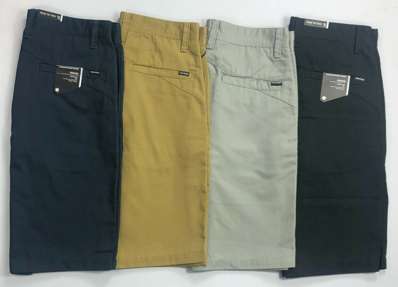 Men's Volcom Regular Fit Relaxed Rise Frickin Chino Shorts