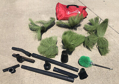 Rotobrush Brushes In Used Condition Lot Of 7 Roto Brush Air Xp Accessories 17pc