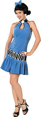 Betty Rubble Flintstones Cartoon Cave Woman Dress Up Halloween Adult Costume