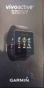 Garmin Vivoactive GPS Watch for Golf, Bike, Run, Swim - Black