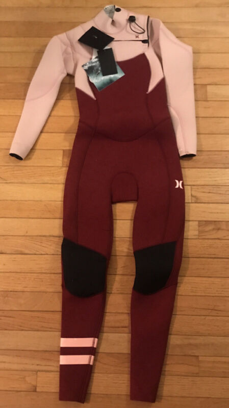 NWT HURLEY Advantage Plus, Women's 4/3 Full Wetsuit , Size 4 Retail $295.00