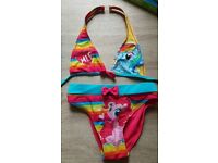 New My little pony bikini age 7/8
