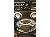 Disco karaoke equipment