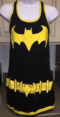 Batman Junior Girl Raceback Tank Dress Medium Halloween Costume Black - Batman Girl Kostüm