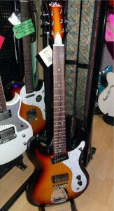 Aria DM01 Electric Guitar in 3 Tone Sunburst