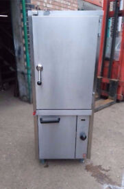 6 tray peri chicken meat steamer falcon commercial equipment catering restaurant